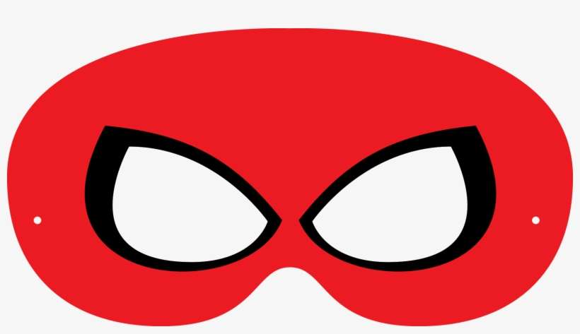 Mascara Homem Aranha Para Imprimir Png Image Transparent Png