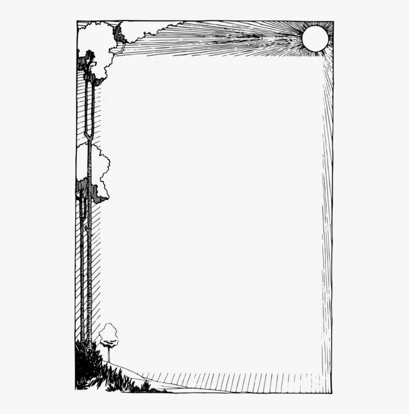 clip art black and white download drawing borders edge nature frame png png image transparent png free download on seekpng nature frame png png image