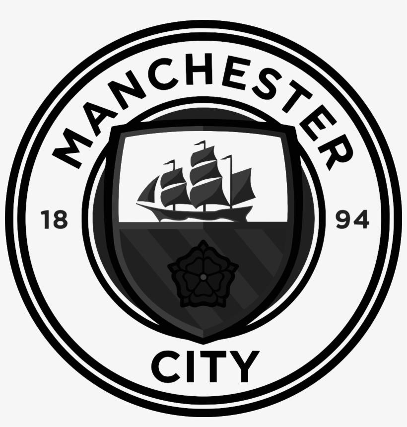Client - Manchester City - Logo Black - Premier League Teams Logo Hd