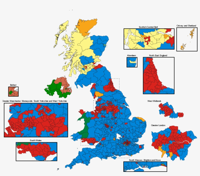 Map Of Uk Parliamentary Constituencies.A Map Of Uk Parliamentary Constituencies Figure Does Uk General