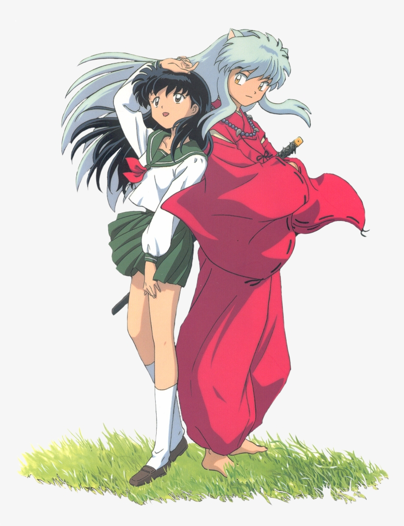 Inuyasha And Kagome Png Image Transparent Png Free Download On Seekpng