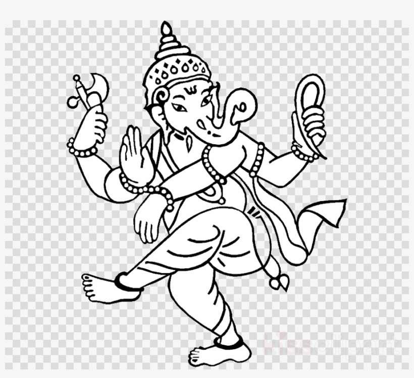 Lord Ganesha Drawing Clipart Ganesha Drawing Hinduism Simple Drawing Of Lord Ganesha Png Image Transparent Png Free Download On Seekpng