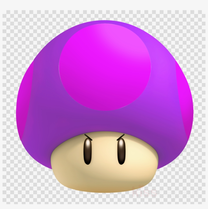 Poison Mushroom Mario Clipart Super Mario Bros Png Image Transparent Png Free Download On Seekpng