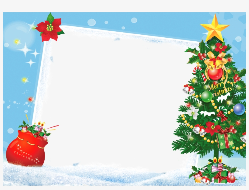 christmas photo frames psd free download