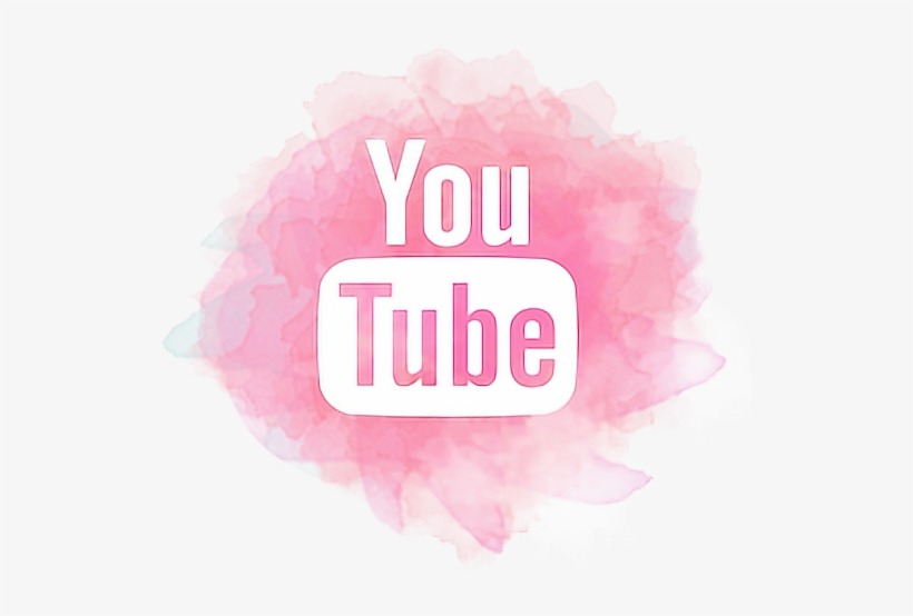 Pink Subscribe Png - Youtube Logo Png Pink PNG Image | Transparent