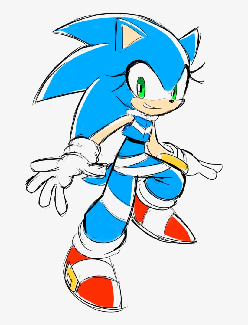 Sonic The Hedgehog Png Image Background - Sonic The Hedgehog Gender