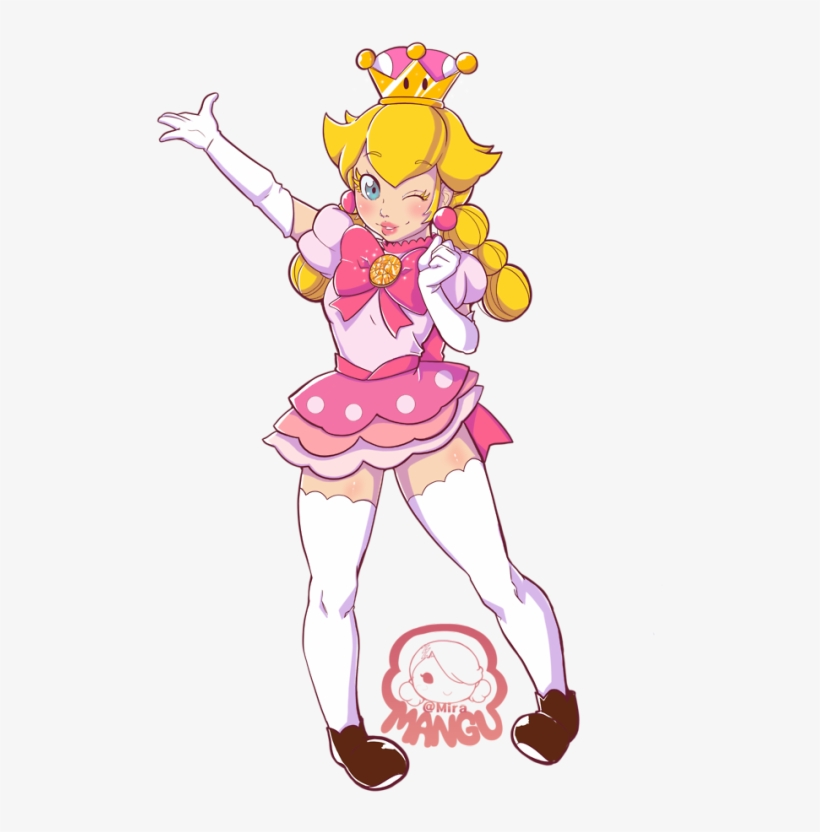 Peachette Fusion Cartoon Png Image Transparent Png Free Download On Seekpng