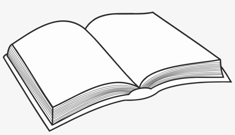 Book Clip Art Libro En Blanco Y Negro Png Image Transparent Png Free Download On Seekpng