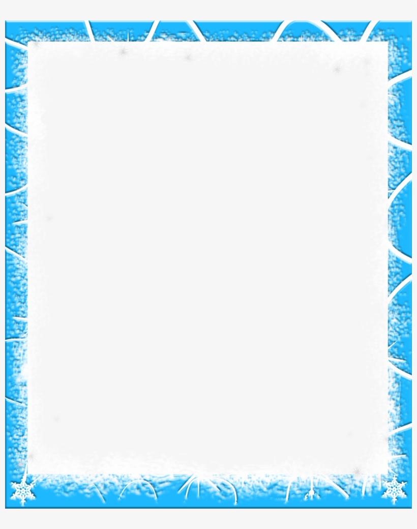frame clipart snow sky blue border design png image transparent png free download on seekpng frame clipart snow sky blue border
