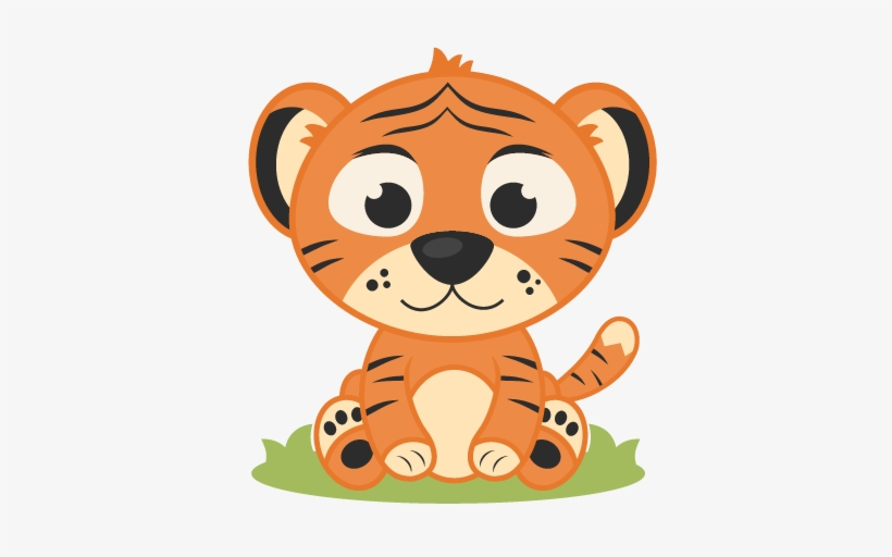 Baby Tiger Clipart Baby Tiger Cartoon Png Png Image Transparent Png Free Download On Seekpng