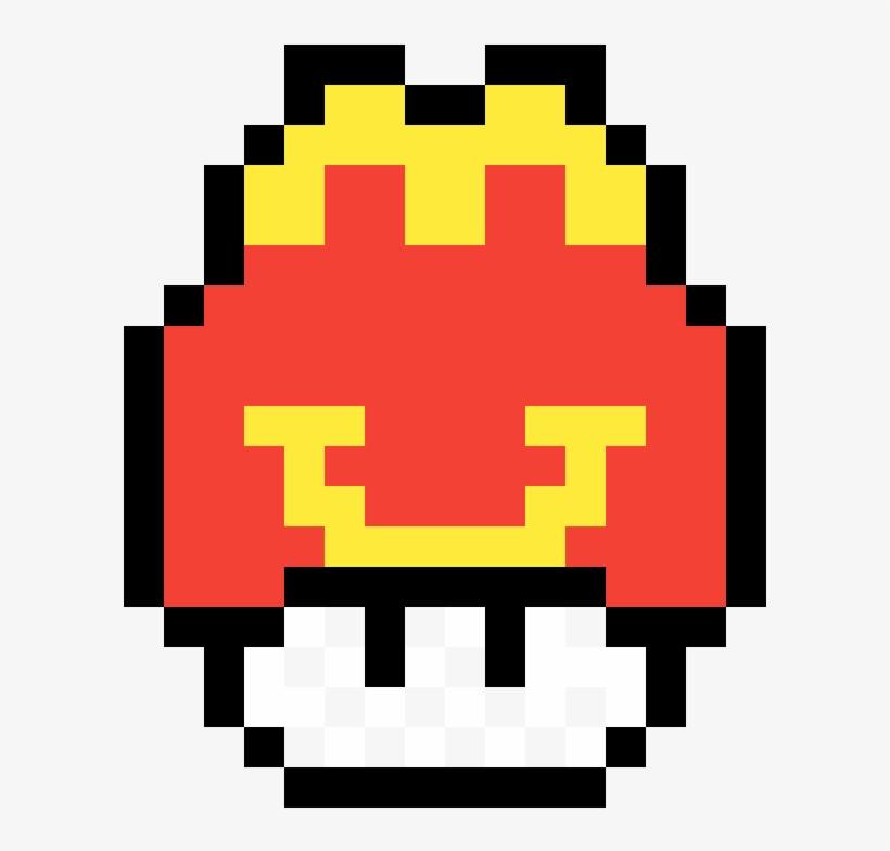 Mcdonalds Mushroom By Congesteddingo 8 Bit Mario Mushroom Pixel