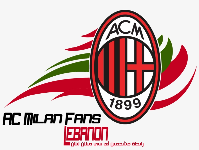 Ac Milan Leb Logo Ac Milan Vs As Roma Png Image Transparent Png Free Download On Seekpng