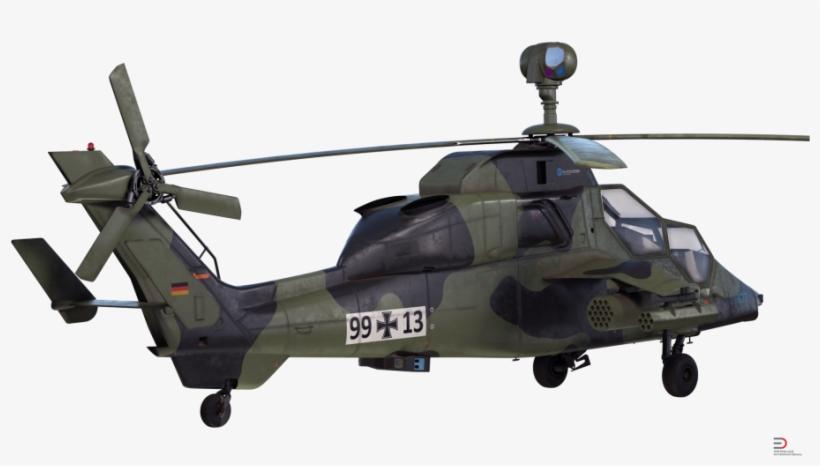 1 Eurocopter Tiger Ec665 German Royalty Free 3d Model Military