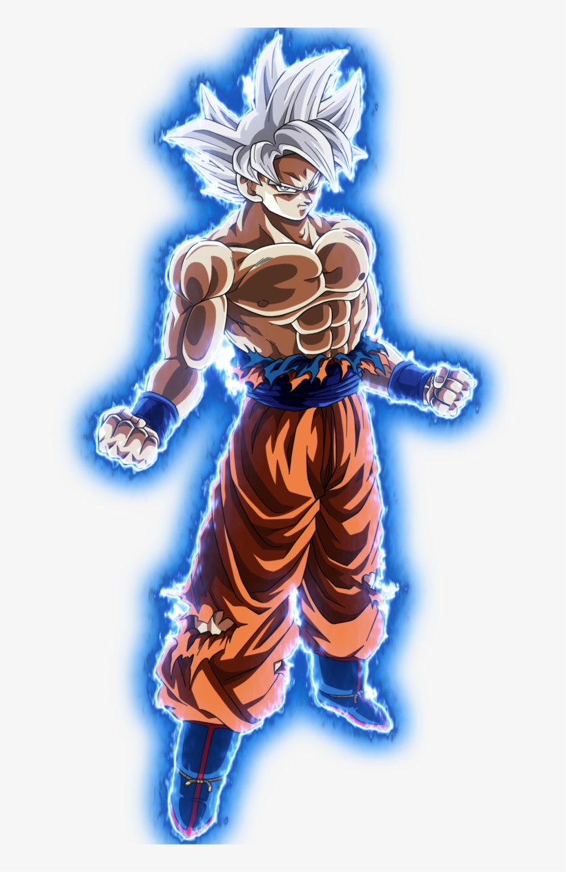 Goku Master Ui No Background By Blackflim Ultra Dragon Ball Super Goku Png Image Transparent Png Free Download On Seekpng