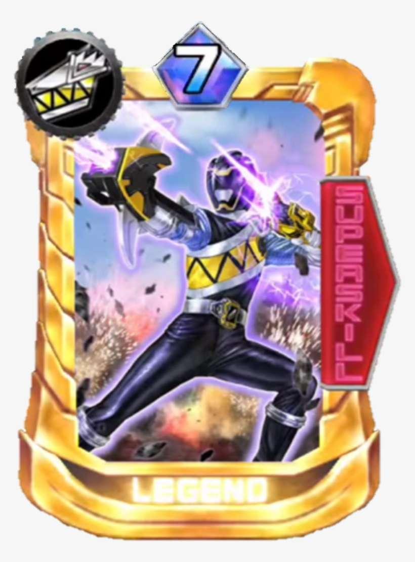 Kyoryublack Card In Super Sentai Legend Wars - Bandai