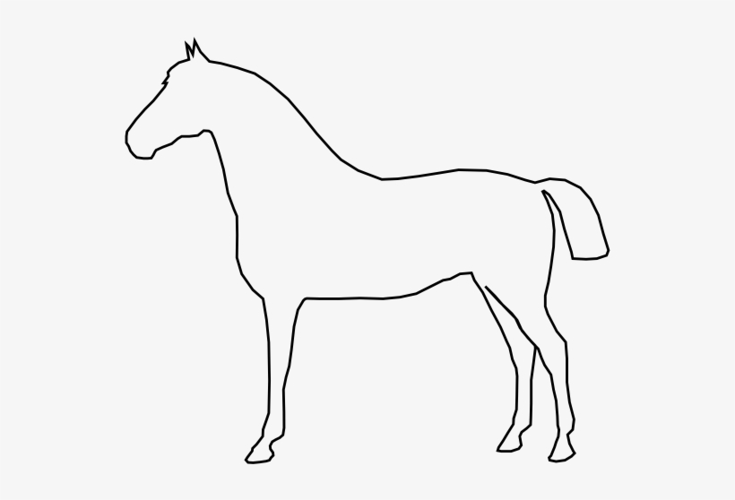 - Simple Horse Coloring Pages PNG Image Transparent PNG Free Download On  SeekPNG