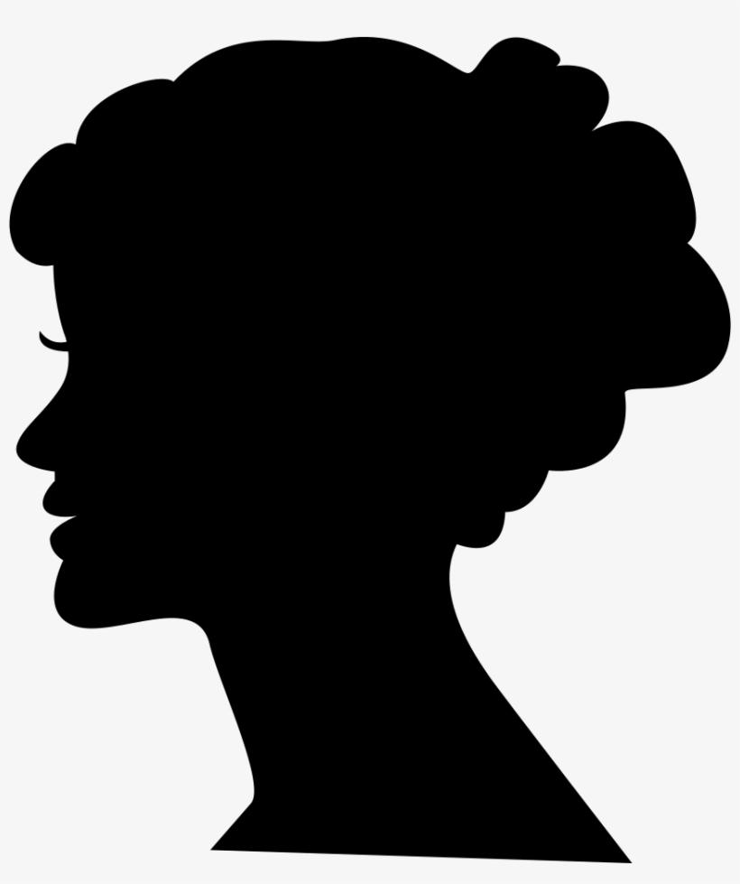 Female Head Silhouette - Woman Profile Silhouette Png@seekpng.com