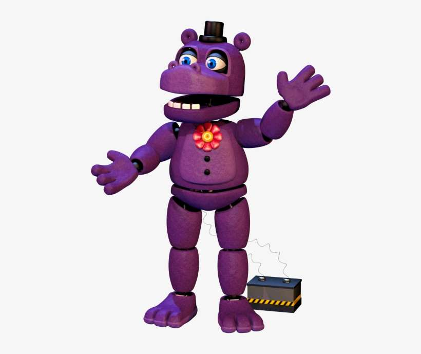 We Finally Get An Actual Purple Animatronic And He - Fnaf 6 Mr Hippo