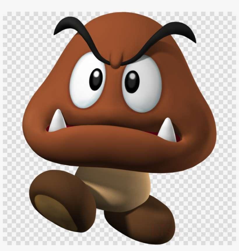 Mario Goomba Clipart Mario Bros Png Image Transparent Png Free