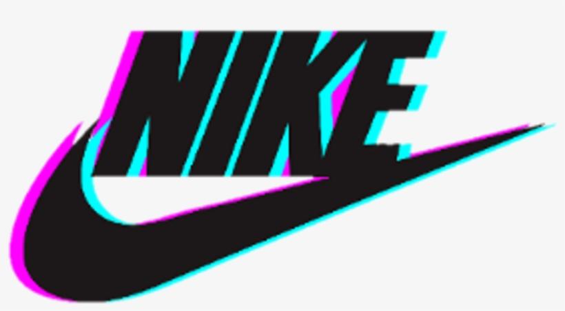 Nike Logo Glitch Tumblr Photography Stickers Tumblr Nike Png Image