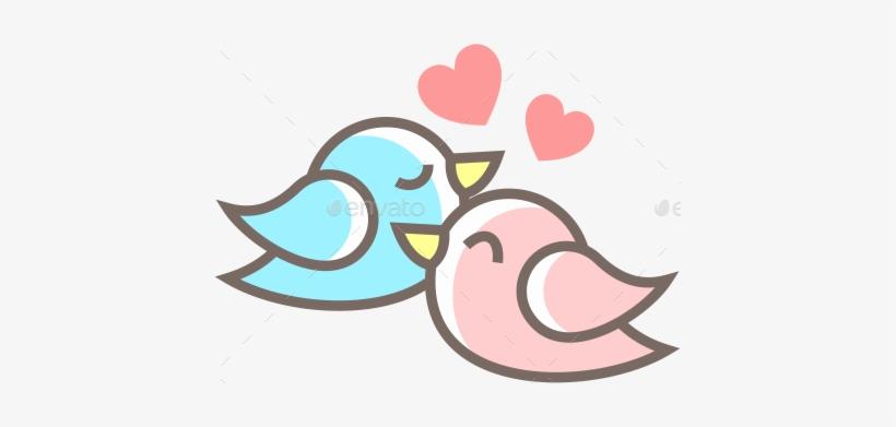 Love Birds Png Background Image - Birds Love Png PNG Image