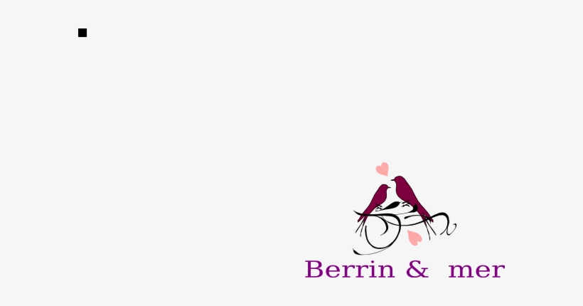 How To Set Use Love Birds Svg Vector PNG Image | Transparent