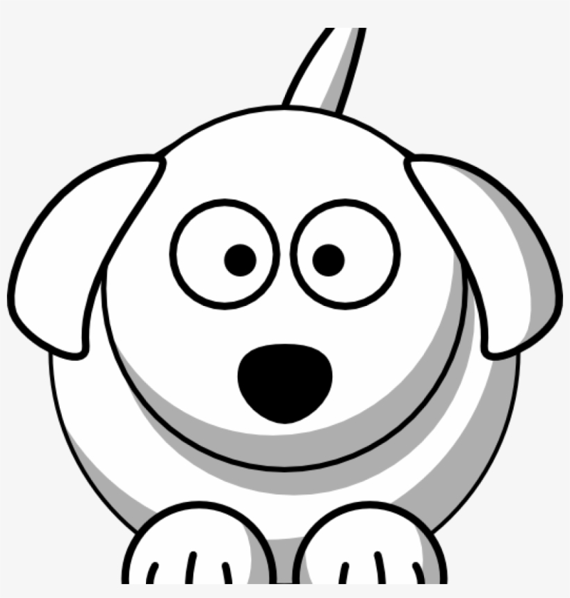 Dog Face Clipart Happy Birthday Clipart Hatenylo Black And White Dog Clip Art Png Image Transparent Png Free Download On Seekpng