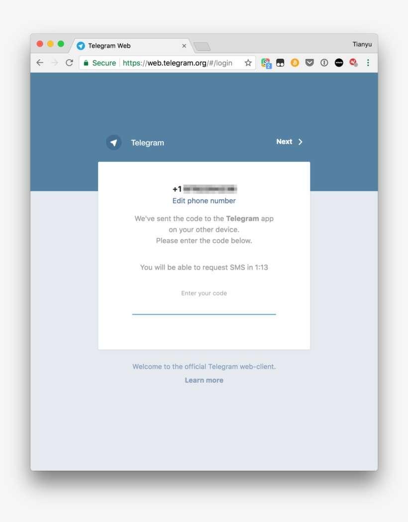 Telegram Web Login Page PNG Image | Transparent PNG Free