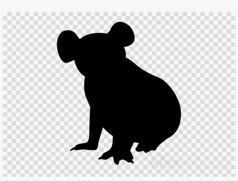 Australian Animal Silhouettes Clipart Koala Australia Png Image Transparent Png Free Download On Seekpng