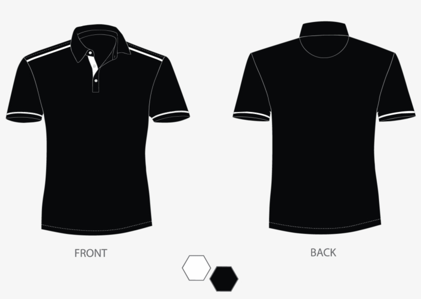 393b23b8366 How Our Customization Works Plain Black V Neck T Shirt Front Png