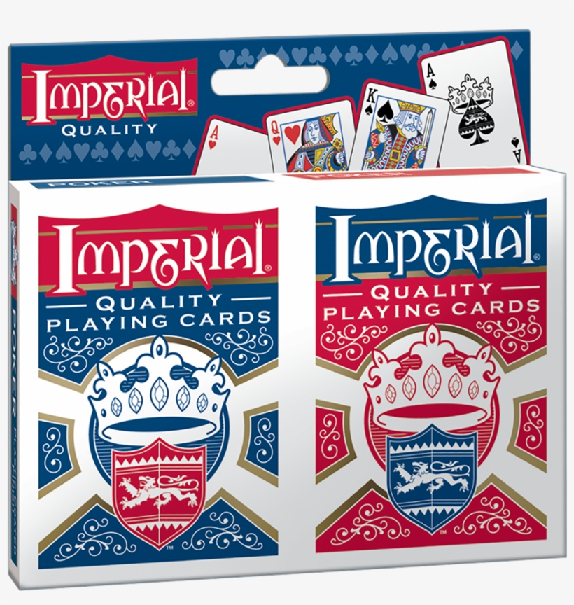 Imperial Twin Pack Poker Playing Cards Patch Products 1452 Imperial Twin Pack Playing Cards Png Image Transparent Png Free Download On Seekpng