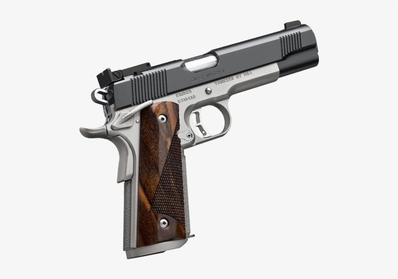 image freeuse 1911 vector pistol gun kimber super match ii png image transparent png free download on seekpng image freeuse 1911 vector pistol gun