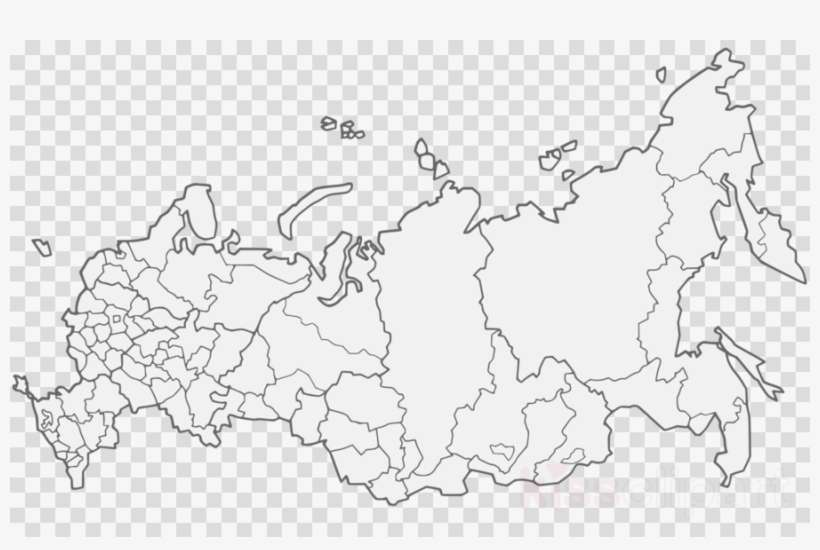 Russia Map Png Clipart Blank Map Krais Of Russia Png Image