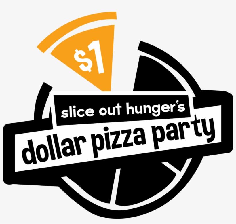 Dollar Pizza Logo C One Dollar Pizza