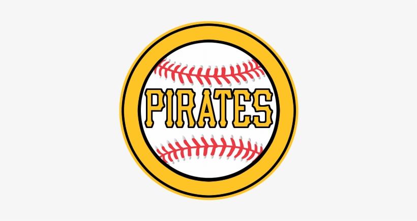 Pirates Logo Baseball - Baseball Clipart Black And White PNG