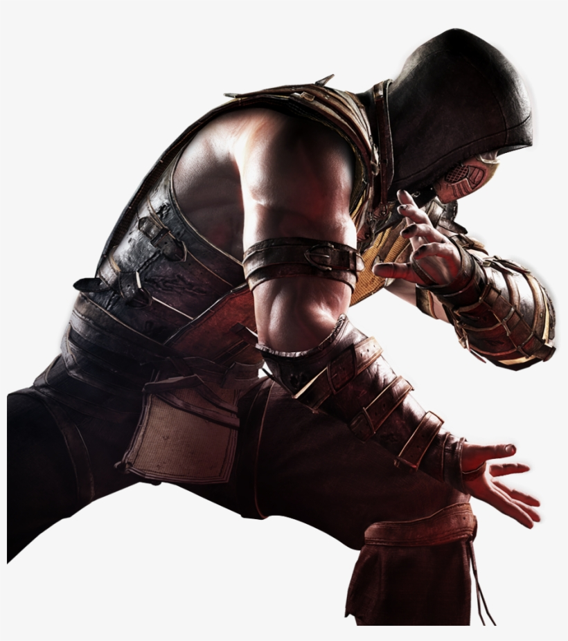 Loading Screen Scorpion Mortal Kombat X Png Png Image