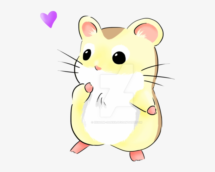 Manga Animals Cute Drawing Of A Hamster Png Image Transparent