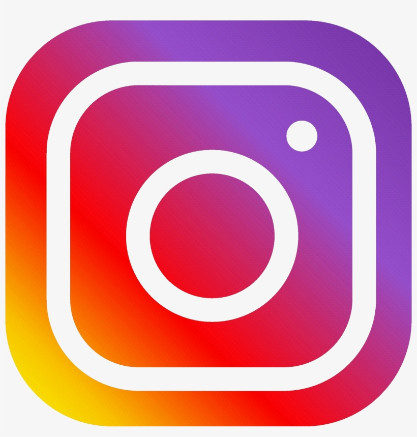 Click The Icons To Visit Our Facebook Page, As Well - Png Format Instagram  Logo Png PNG Image   Transparent PNG Free Download on SeekPNG