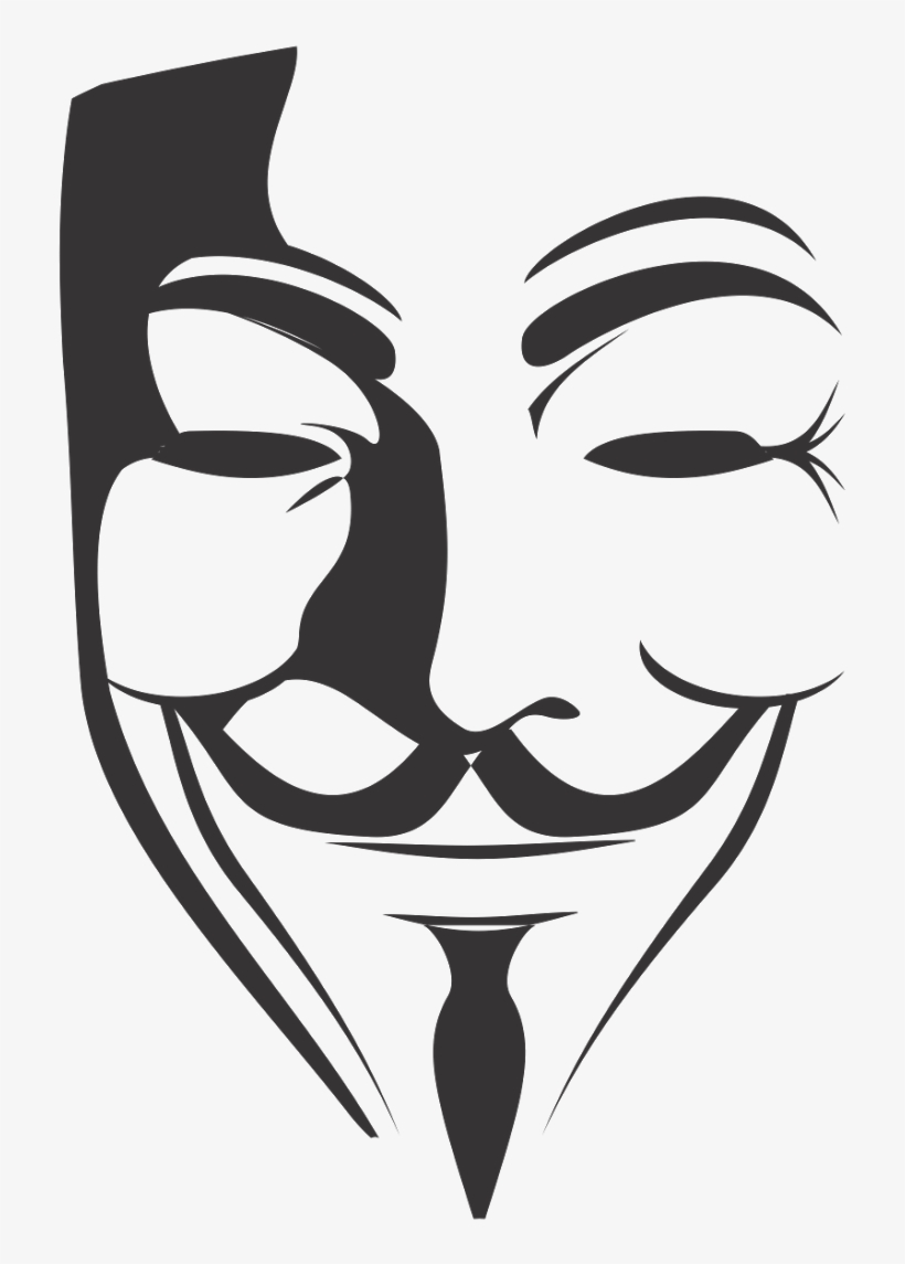 Anonymous Mask Wallpaper Png Png Transparent Stock V For