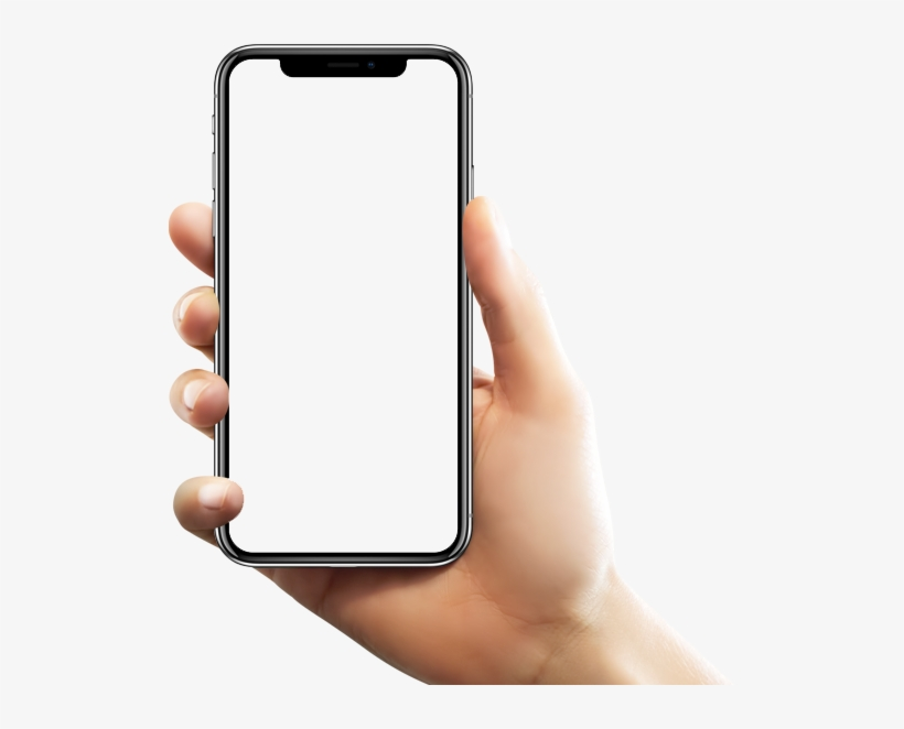 Phone In Hand Png Image Snapchat On Iphone X Png Image