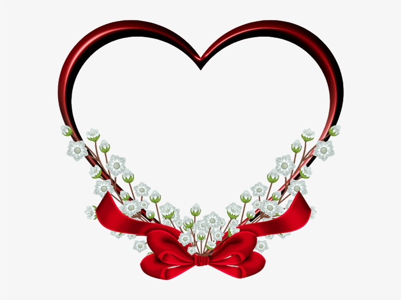 Love Frame Free Png Heart
