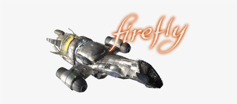 Firefly Tv Show Image With Logo And Character - Firefly Tv