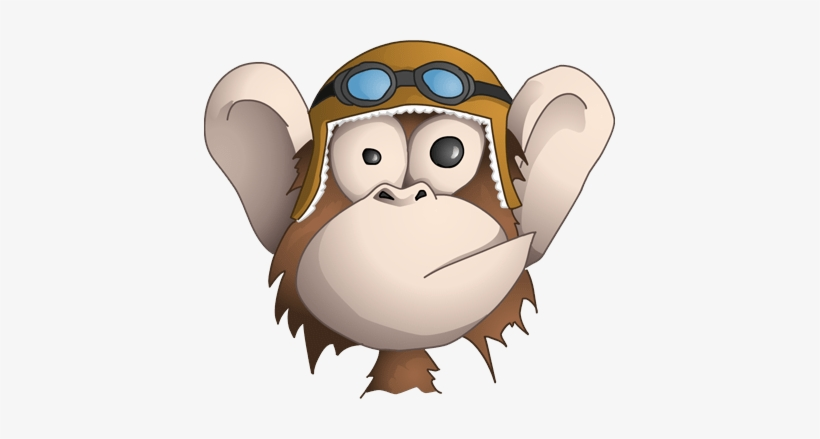Funny Good Morning Quotes Funny Monkey Face Cartoon Png Image