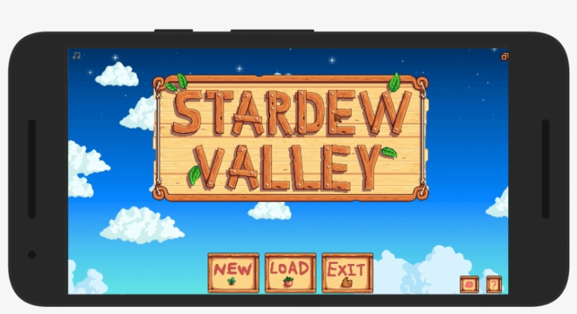 Stardew Valley Android Loading Screen PNG Image | Transparent PNG