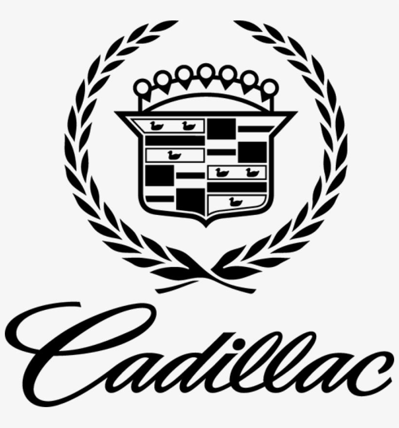Cadillac Emblem Decal Sticker - Cadillac Logo Black And White@seekpng.com
