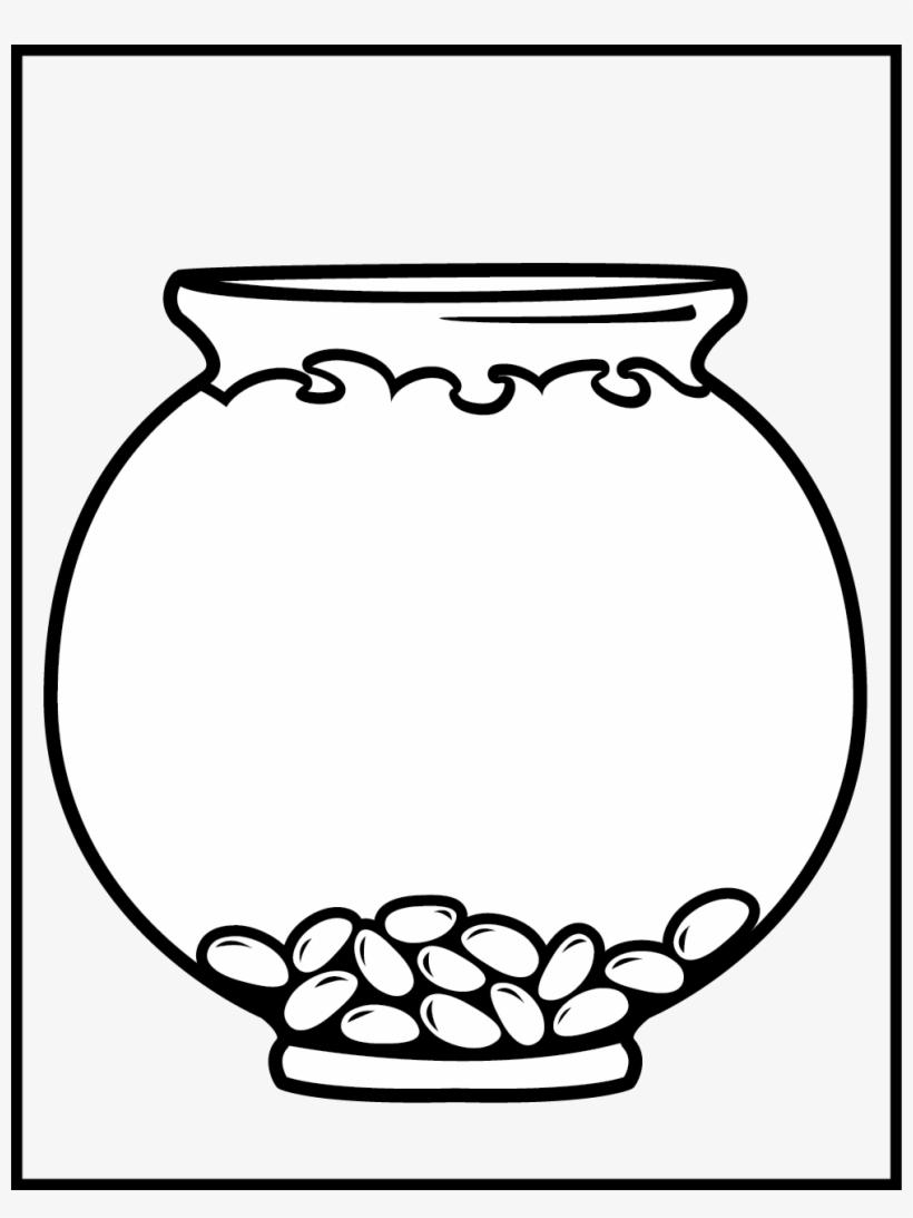 Get Fish Bowl Coloring Page
