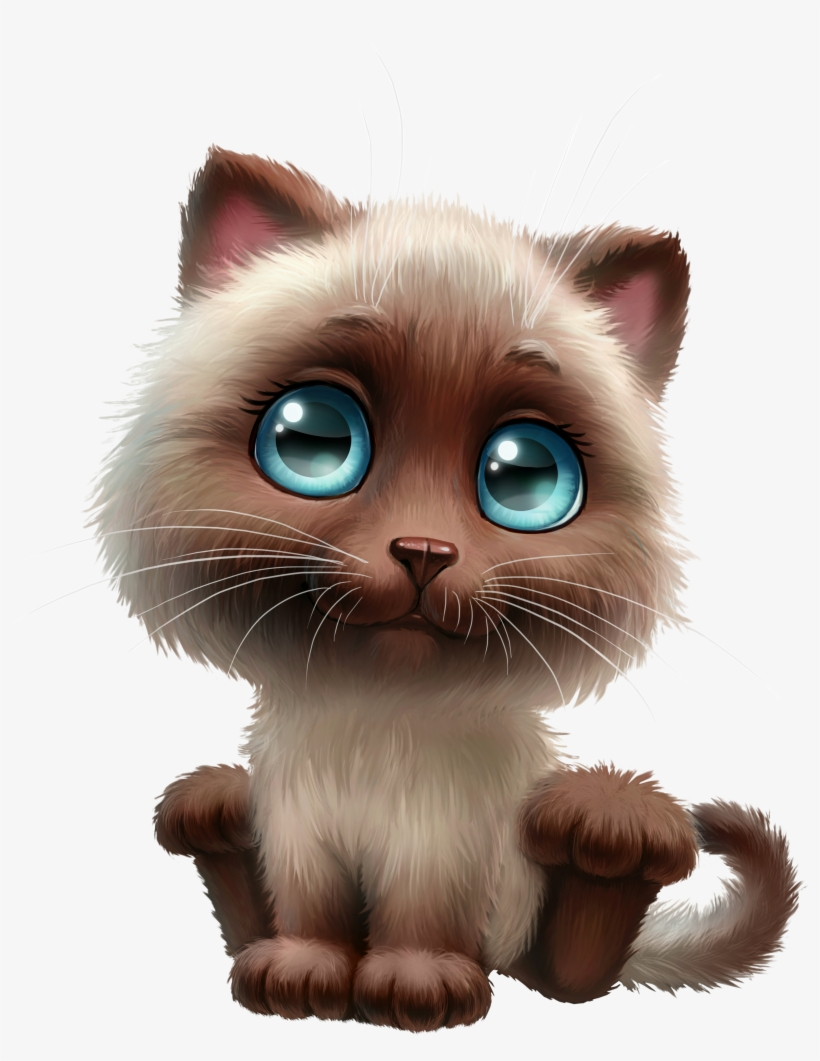 Anime Clipart Cute Cat Siamese Cat Clipart Png Image Transparent Png Free Download On Seekpng