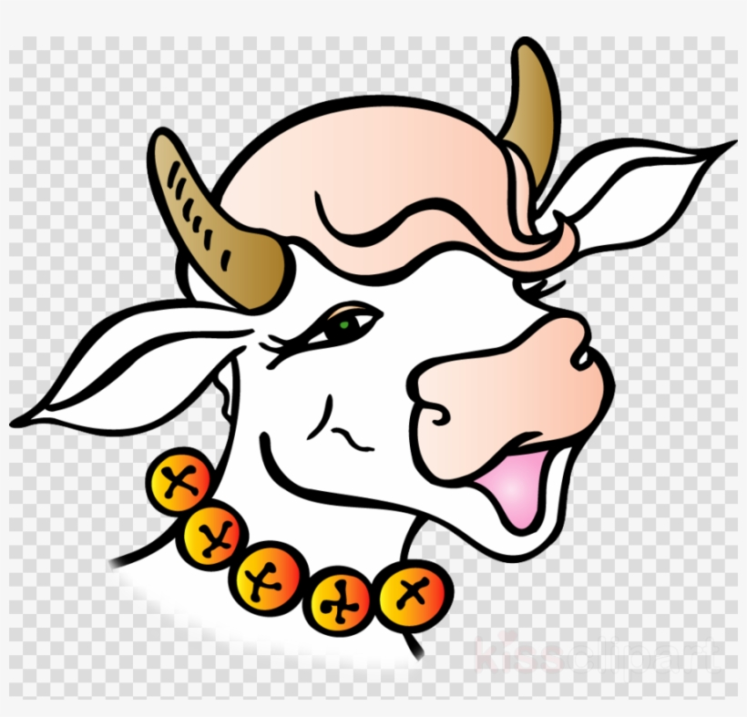 Download Ox Clipart Gir Cow - Cartoon - Full Size PNG Image - PNGkit