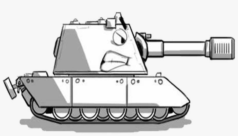Download World Of Tanks Drawing Line Art Cartoon - Tank ...