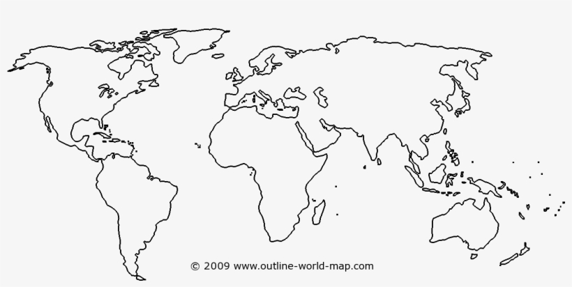 World Map Outline Png PNG Images | PNG Cliparts Free